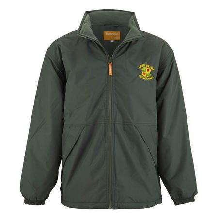 Fleece Lined Green Jacket W Hood