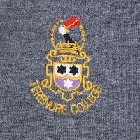 Junior School Jumper Grey 1st - 4th Yr