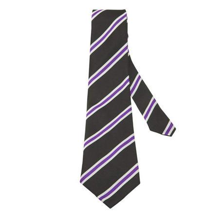 Black Tie With Stripe