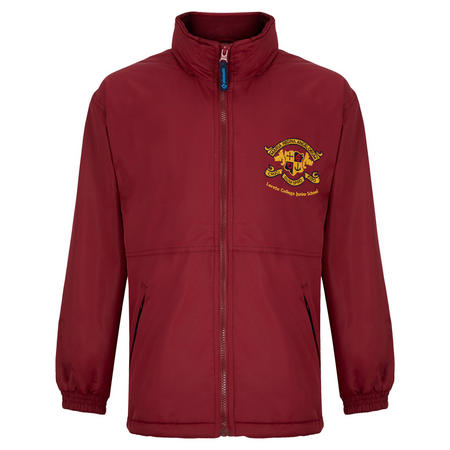 Crested School Jacket Red