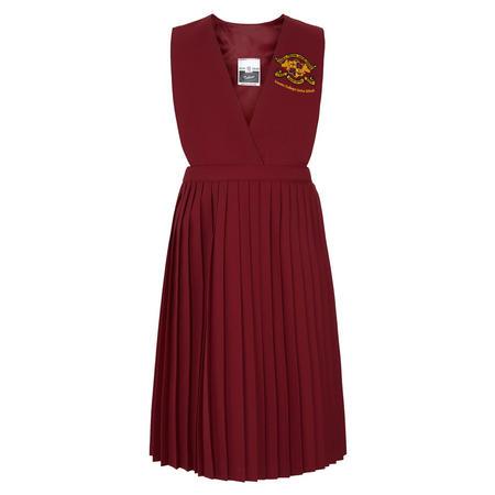 Junior Wine Woolblend Pinafore/Skirt