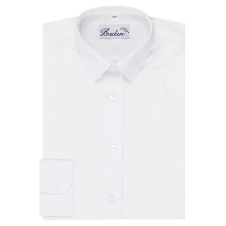 Girls School Shirt White