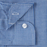Artform Twin Pack Gingham Revere Shirt Blue