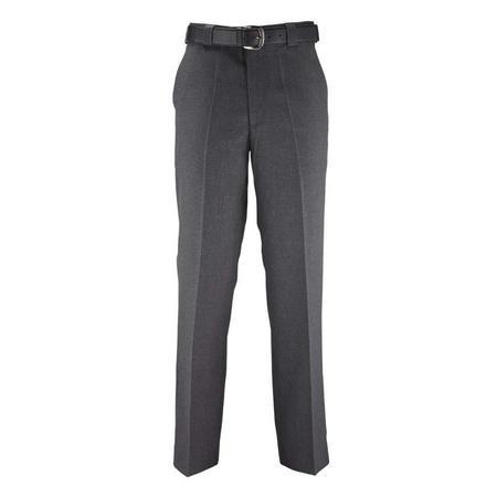Virginian Grey Mens Wool Blend School Trousers