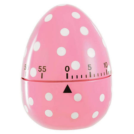 The Spotted Egg Kitchen Timer Pink