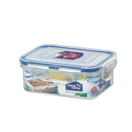 Lock & Lock Storage Container Rectangular 350 Ml