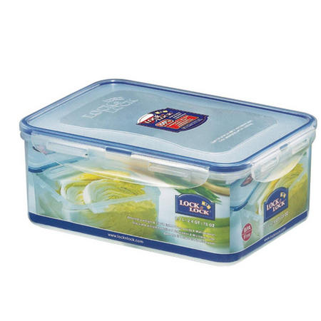 Lock & Lock Storage Container Rectangular 2.2 Litre