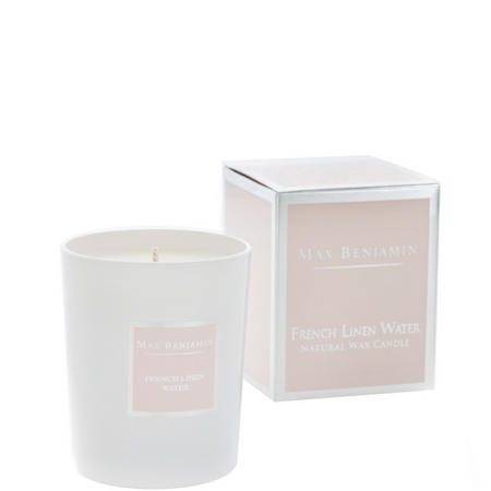 French Linen Water Candle