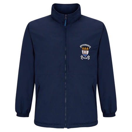 Crested School Jacket Blue
