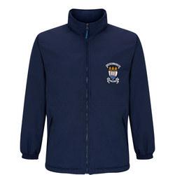 Crested School Jacket Blue