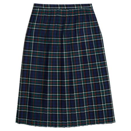 Tartan School Uniform Skirt Green