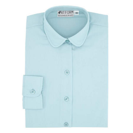 School Blouse Blue