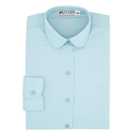 School Blouse Blue