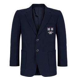 Boys Crested Navy School Blazer