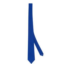 Virginian Plain School Tie Blue