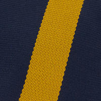 Navy And Gold striped School Tie