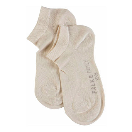 Family Short Ankle Socks Beige