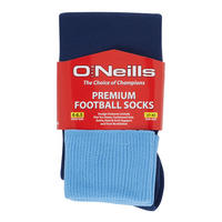 Navy/Sky Blue Sport Socks