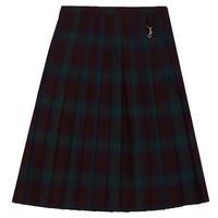 Tartan School Skirt Multicolour