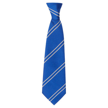 St Mary's Elastic Tie Blue