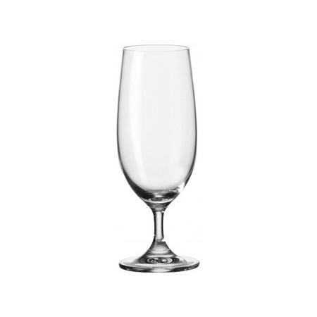 Daily Beer Glass 6 Piece Clear