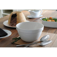 Pudding Basin 17 Cm White