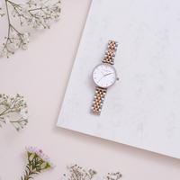 Queen Bee T-Bar Bracelet Watch White