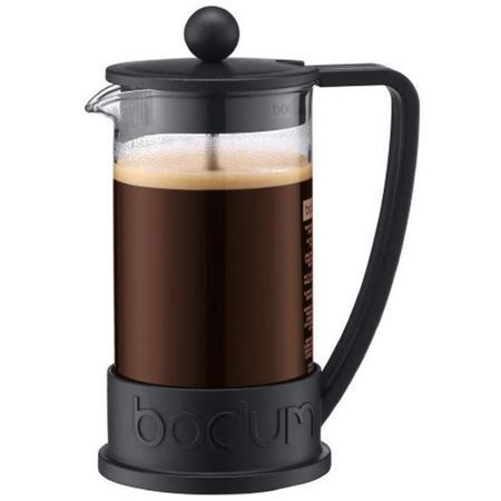 Brazil Cafetiere 3 Cup Black