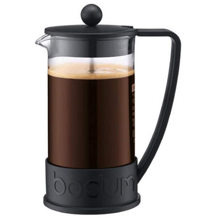 Brazil Cafetiere 8 Cup Black