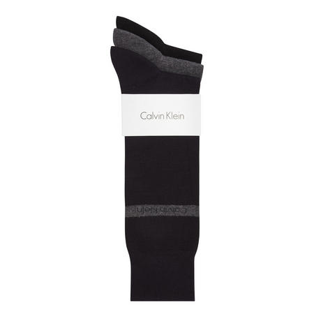 Three-Pack Dress Socks