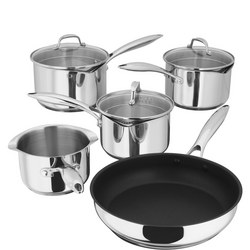 PP374 Draining Saucepan Set Of 5
