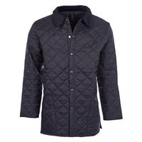 Liddesdale Quilted Jacket Mid Black Wash