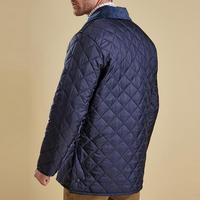 Liddesdale Quilted Jacket Dark Blue