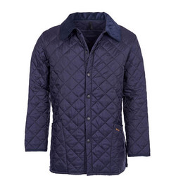 Liddesdale Quilted Jacket Dark Blue