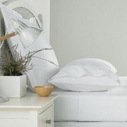 300 Thread Count Square Oxford Pillowcase White