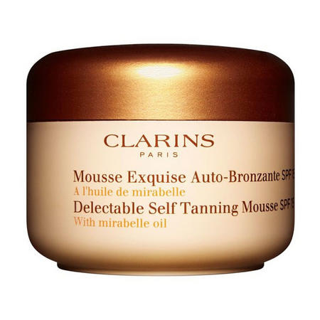 Delectable Self Tanning Mousse SPF15