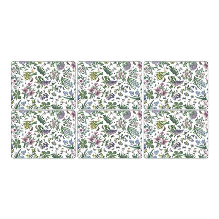 Placemats Botanic Garden Set of 6