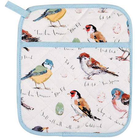 Bird Song Pot Mitt