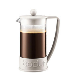 Brazil Cafetiere 8 Cup White