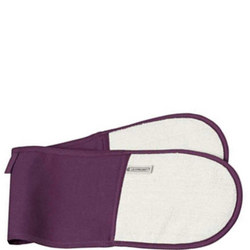 Double Oven Glove Cassis