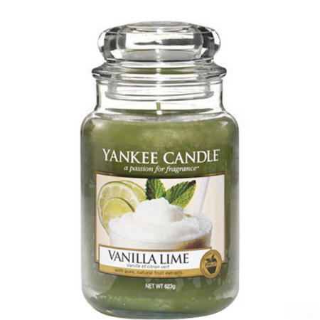 Vanilla Lime Jar Large