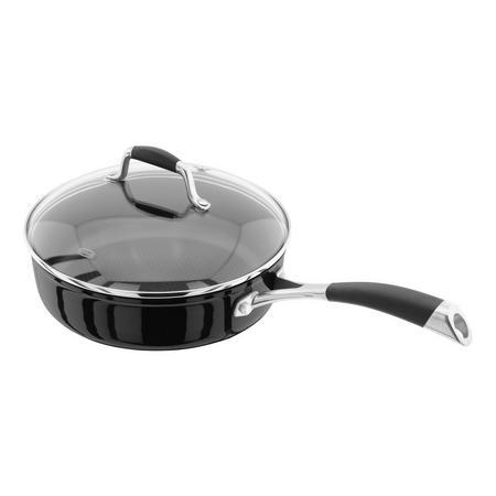 Forged  24cm Saute Pan  Non-Stick  Black