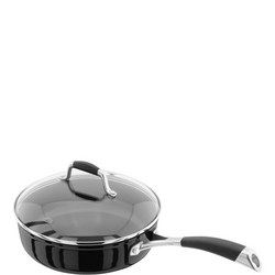 Stellar Forged  24cm Saute Pan  Non-Stick  Black