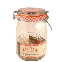 Cliptop Jar Round 1 Litre