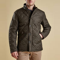 Powell Quilted Jacket Green