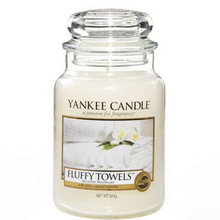 Fluffy Towels Large Jar