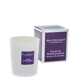 Cassis & White Jasmine Candle