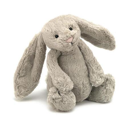 Bashful Bunny, 7 Inch Beige