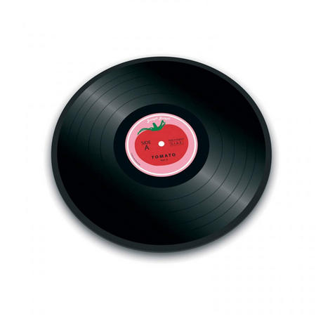 Tomato Vinyl Records chopping board