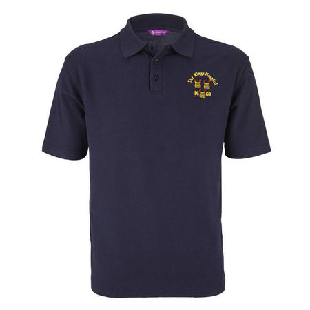 Crested Polo Shirt Navy